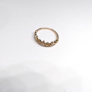 サマンサティアラ(Samantha Tiara)のk18 サマンサティアラ クラウンリング(リング(指輪))