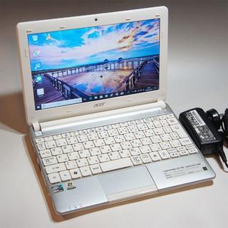 エイサー(Acer)のAcer☆Windows10 & 最新MS Office☆Atom N2600(ノートPC)