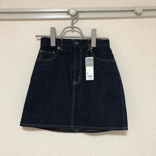 GU - ❁⃘ デニムミニスカート 新品タグ付き ❁⃘