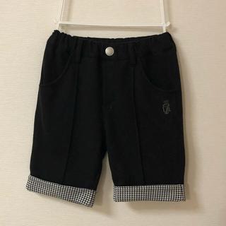男の子  100 黒  ズボン ハーフパンツ(ドレス/フォーマル)