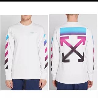 オフホワイト(OFF-WHITE)のoff-white グラデーション (Tシャツ/カットソー(七分/長袖))