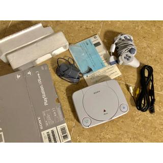 プレイステーション(PlayStation)のソフト10本+本+未使用プレイステーションPSone本体(家庭用ゲーム本体)