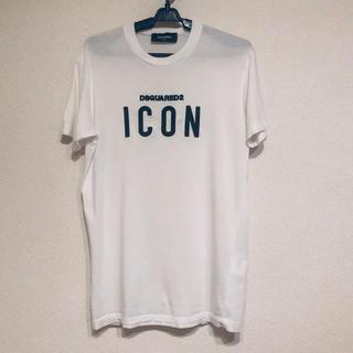 ディースクエアード(DSQUARED2)のDSQUARED2 ディースクエアード Tシャツ ホワイト XS(Tシャツ/カットソー(半袖/袖なし))