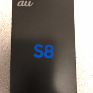 サムスン(SAMSUNG)のgalaxy  S8 (スマートフォン本体)