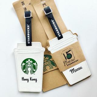 Starbucks Coffee - スタバ スターバックス 香港 限定 バッゲージタグ バッグ
