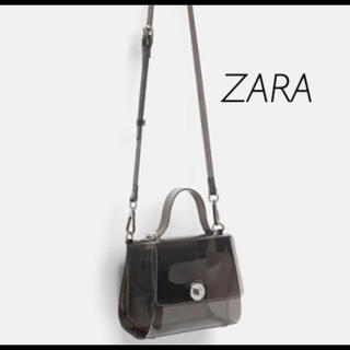 ZARA - 【新品・未使用】ZARA ビニール ミニ シティ バッグ