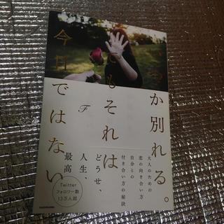 カドカワショテン(角川書店)のいつか別れるでもそれは今日ではない(文学/小説)