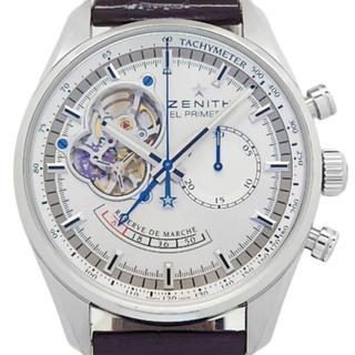 ゼニス(ZENITH)のゼニス エルプリメロ オープン 自動巻 国内正規品 超美品(腕時計(アナログ))