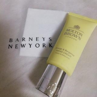 バーニーズニューヨーク(BARNEYS NEW YORK)のオレンジ&ベルガモット ハンドクリーム(ハンドクリーム)