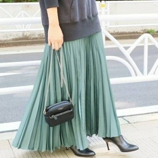 IENA - iena アコーディオンプリーツスカート 38サイズ