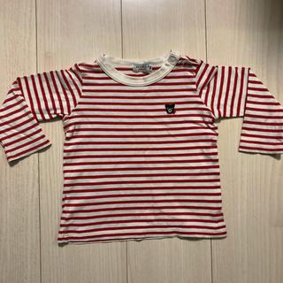 ミキハウス(mikihouse)のミキハウス  80 ロンT カットソー トレーナー 長袖Tシャツ(シャツ/カットソー)