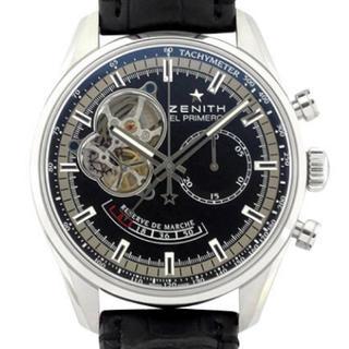 ゼニス(ZENITH)のゼニス エルプリメロ オープン クロノマスター 超美品  確実正規品(腕時計(アナログ))