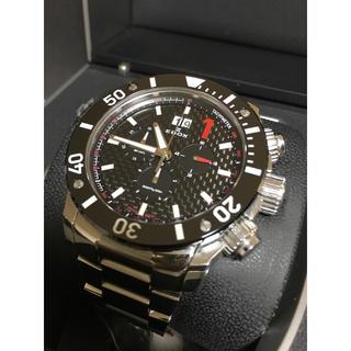 エドックス(EDOX)のEDOX クラスワン クロノオフショア ビックデイト(腕時計(アナログ))