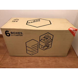 アンディフィーテッド(UNDEFEATED)のTOWER BOX NORMAL TYPE 1セット(6ケース)【新品定価以下】(ケース/ボックス)