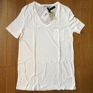 【新品未使用】アレキサンダーワン Tシャツ 白 サイズS