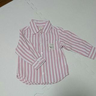 ミキハウス(mikihouse)のミキハウス ピクニック ストライプシャツ(シャツ/カットソー)