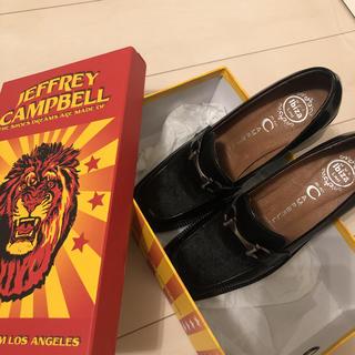 ジェフリーキャンベル(JEFFREY CAMPBELL)のJEFFREY CAMPBELL  レディースシューズ(ローファー/革靴)
