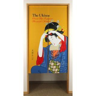 ☆浮世絵のれん 「THE UKIYOE」 日本製 新品 約幅85×丈150cm(のれん)