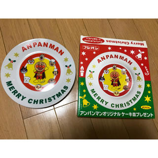 アンパンマン(アンパンマン)のアンパンマン クリスマスケーキ皿 非売品(キャラクターグッズ)
