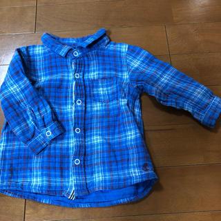 プチバトー(PETIT BATEAU)のプチバトー 長袖シャツ(シャツ/カットソー)
