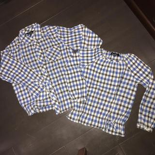 イーストボーイ(EASTBOY)のEAST BOY 150センチ、120センチシャツ(ブラウス)