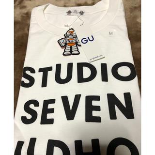 GU - ホワイト M Tシャツ スタジオセブン