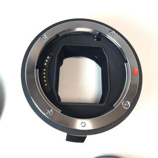シグマ(SIGMA)の美品SIGMA MC-11 EF→Eマウント用 (レンズ(単焦点))
