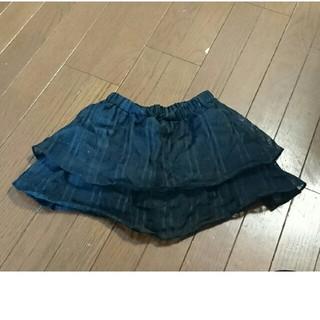ジーユー(GU)の女子 キュロットスカート 120(スカート)