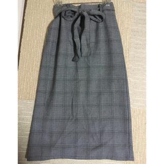 GU - guグレンチェックタイトスカート