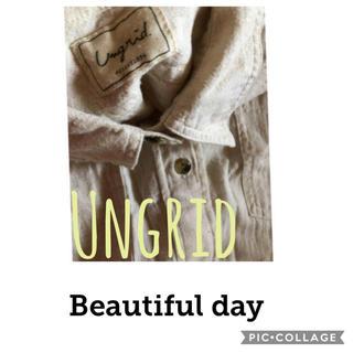 アングリッド(Ungrid)のUngrid✳︎natural shirt(シャツ/ブラウス(長袖/七分))
