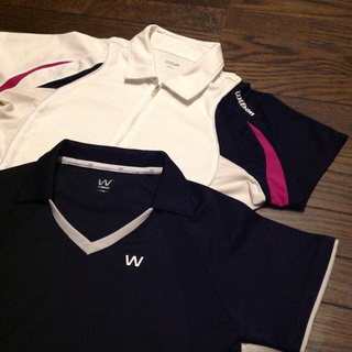 ウィルソン(wilson)のウィルソン テニス シャツ2枚セットで(ウェア)