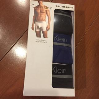 カルバンクライン(Calvin Klein)のカルバンクライン 下着 ボクサーパンツ セット ブルー ブラック 新品 M(ボクサーパンツ)