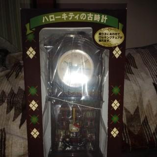 ハローキティ(ハローキティ)の【非売品】ヴィンテージSANRIOハローキティ置き時計(置時計)