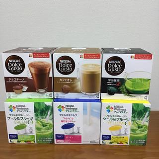 ネスレ(Nestle)のネスカフェ ドルチェグスト 6個セット(コーヒー)