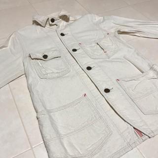 デニムダンガリー(DENIM DUNGAREE)のデニム&ダンガリー  ジャケット ホワイト 140cm(ジャケット/上着)