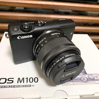Canon - 美品❗️軽くて使いやすい✨キャノン Canon EOS M100