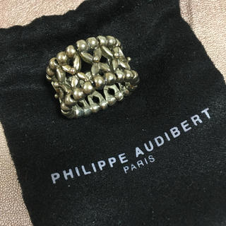 フィリップオーディベール(Philippe Audibert)のPHILIPPE AUDIBERT リング ユニセックス(リング(指輪))