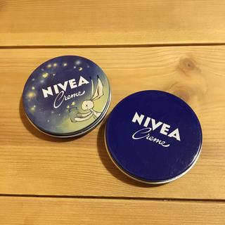 ニベア(ニベア)のニベア 青缶 限定缶 ミニ 30ml ドイツ購入(ハンドクリーム)