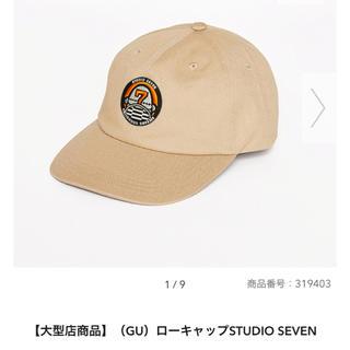 ジーユー(GU)の新品未使用 guseven ローキャップ 大型店限定(キャップ)