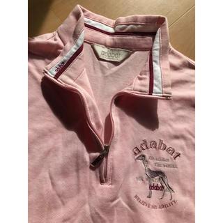 アダバット(adabat)のアダバット ゴルフ ポロシャツ 38 ピンク ウェア(ポロシャツ)