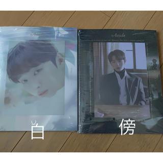 """ユンジソン アルバム""""Aside"""" 傍 or 白ver.(K-POP/アジア)"""