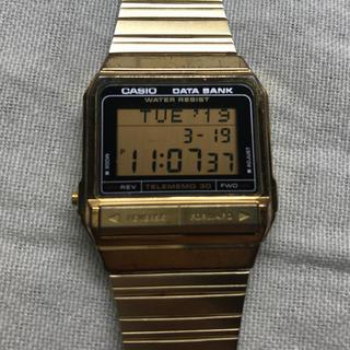 5e1f268a92 カシオ(CASIO)のCASIO カシオ データバンク DATA BANK テレメモ30(腕時計(