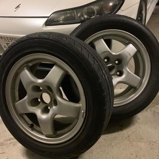 R32 スカイライン タイプM 純正ホイール 2本(ホイール)