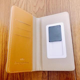 エテ(ete)のete☆ゴールド☆上品な手帳型スマホケース(スマホケース)