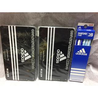 アディダス(adidas)のアディダス 色鉛筆  12色セット×2 2B かきかたえんぴつ1ダース(色鉛筆)
