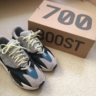 adidas - yeezy boost 700 wave runner 28cm