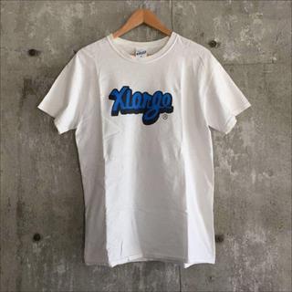 エクストララージ(XLARGE)のXLARGE エクストララージ ロゴTシャツ ホワイト/白 Mサイズ(Tシャツ/カットソー(半袖/袖なし))