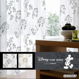 ディズニー(Disney)のレースカーテン ミッキー ディズニー 美品 日本製(カーテン)
