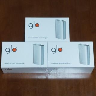 グロー(glo)のglo グロー 新品・未使用 3個セット(タバコグッズ)