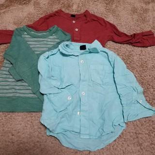 ベビーギャップ(babyGAP)のbaby Gap 長袖Tシャツ&七分袖シャツ 90(Tシャツ(長袖/七分))